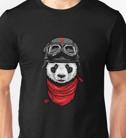 Cool Panda Design Unisex T-Shirt