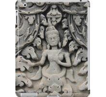 The Grey Dancer, Angkor Wat, Cambodia iPad Case/Skin
