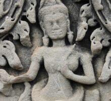 The Grey Dancer, Angkor Wat, Cambodia Sticker