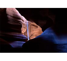 Blue River of Light Photographic Print