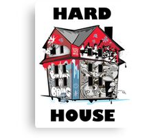 GTA Hard House Canvas Print
