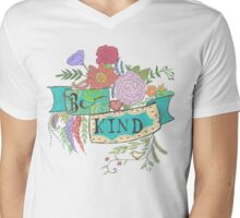 Be Kind Mens V-Neck T-Shirt