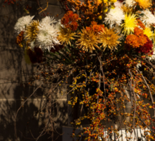 Mother Nature's Autumn Colors - a Still Life Sticker
