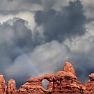 Rainbow Over Turret Arch by Alex Preiss