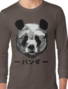Panda Awesome Art Long Sleeve T-Shirt