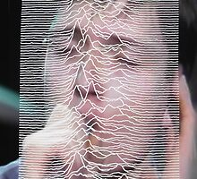 Ian Curtis/Unknown Pleasures mix up by Hannah Mizen