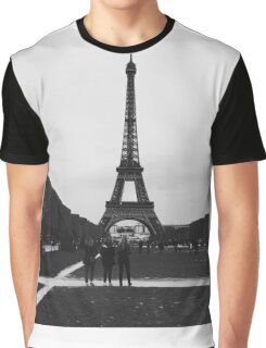 Eiffel Tower Paris Graphic T-Shirt