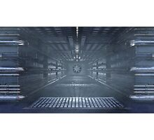 Sci -Fi Ventilation Shaft Photographic Print