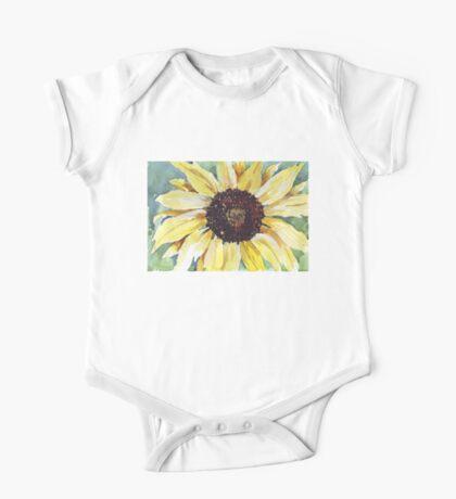 Helianthus annus (Sunflower) One Piece - Short Sleeve