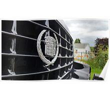 Long Black Cadillac Poster