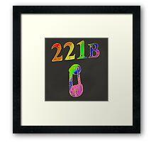Rainbow 221B Framed Print