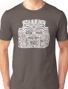 Maori Moko   Tribal Tattoo   New Zealand   Black and White Unisex T-Shirt