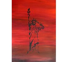 The price of liberty is steep Photographic Print