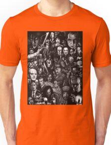 Retro horror movie Unisex T-Shirt
