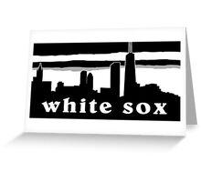 White Sox Greeting Card