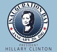 INAUGURATION DAY Seal Hillary by Greenbaby