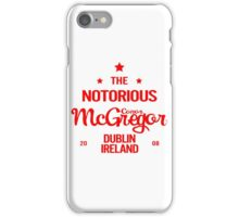 Arrival Collection - Conor McGregor iPhone Case/Skin