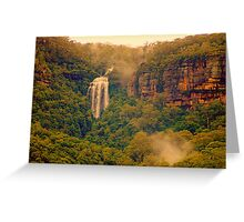 Misty Mountain Hop Greeting Card