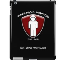 Trayvon Martin - No More Profiling iPad Case/Skin