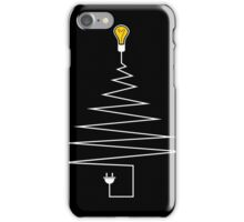 Electric Christmas tree iPhone Case/Skin