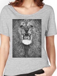 Trippy Lion - Lee Conklin - Santana's Album Art 1970's Women's Relaxed Fit T-Shirt