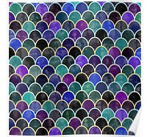 Watercolor Lovely Pattern XII Poster