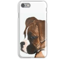 Fawn boxer puppy iPhone Case/Skin