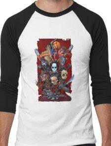 Horror guys Men's Baseball ¾ T-Shirt