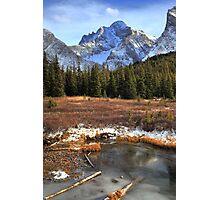 Elbow pass creek II Photographic Print