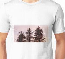 Morning Sun On Pine Trees Unisex T-Shirt