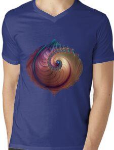 Dream On Fractal Art Mens V-Neck T-Shirt