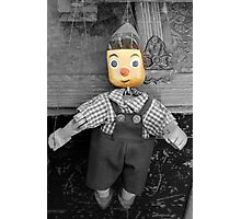 old wooden puppet Photographic Print