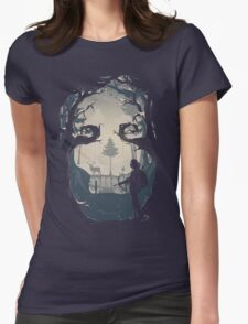 Winter Hunt Womens Fitted T-Shirt