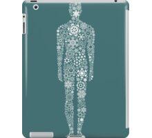 Person a snowflake iPad Case/Skin