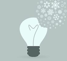 Snowflake a bulb by Aleksander1