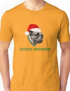 Father Squishmas Bulldog Unisex T-Shirt
