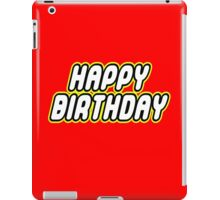 HAPPY BIRTHDAY iPad Case/Skin