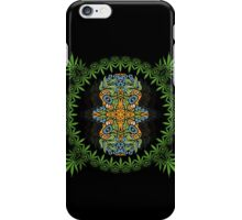 Psychedelic cannabis jungle spirit iPhone Case/Skin