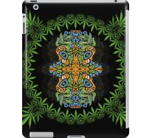 Psychedelic cannabis jungle spirit iPad Case/Skin