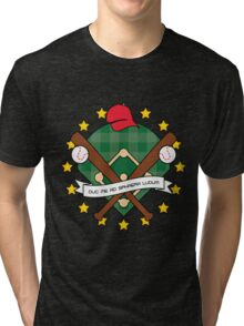 Take Me Out to the Ball Game Tri-blend T-Shirt