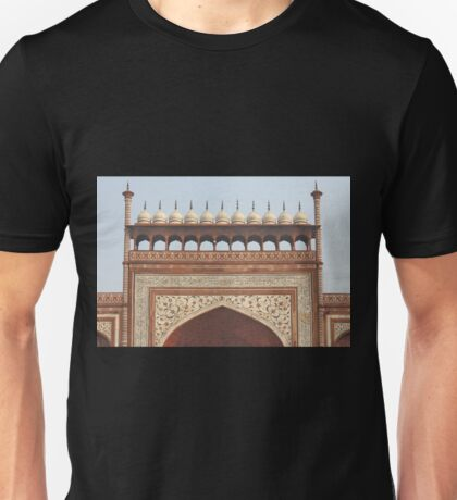 Gateway at the Taj Mahal Unisex T-Shirt