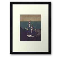 High Diving Framed Print
