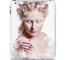 Beautiful girl with glamour Christmas makeup iPad Case/Skin
