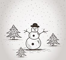 snowman by Aleksander1