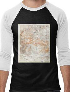 USGS TOPO Map California CA Alhambra 287845 1926 24000 geo Men's Baseball ¾ T-Shirt