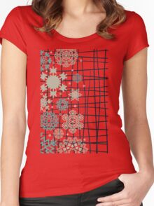 Structure snow Women's Fitted Scoop T-Shirt