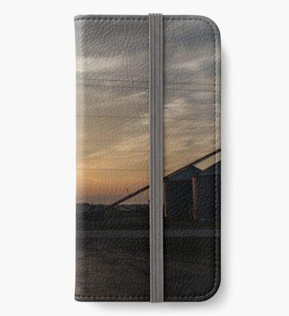 Arkansas Farm at Sunset iPhone Wallet/Case/Skin