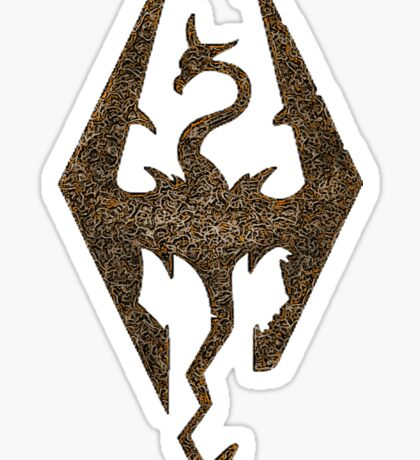 Skyrim symbol Sticker
