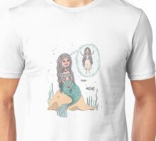 Cute beautiful Little Mermaid Unisex T-Shirt