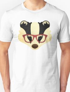 Hipster Badger T-Shirt